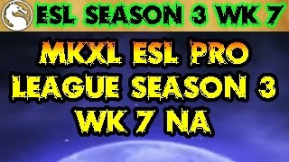 Mortal Kombat X ESL Season 3 (60fps) NA Week 7 MKX Tournament
