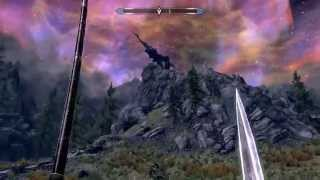 The Elder Scrolls V: Skyrim - убийство Алдуина (Defeating Alduin)