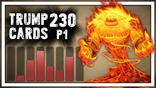 Hearthstone: Trump Cards - 230 - Trump Is on Fire - Part 1 (Shaman Arena)