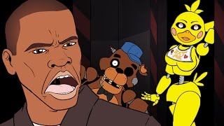 "GTA 5 vs Five Nights at Freddy's | ""5 Nights @ Franklin's"" by Sam Green Media"