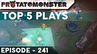 League of Legends Top 5 Plays Week 241 -   Featuring Poqito