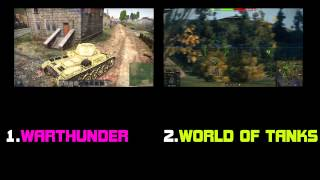 Warthunder або World of Tanks ЩО КРАЩЕ