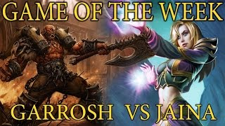 Hearthstone Game of the Week # 1 - Battlefields of Armor and Magic