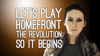 Homefront The Revolution Gameplay: Let's Play Homefront The Revolution on Xbox One