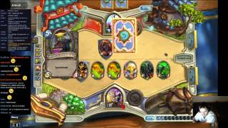 (MUST SEE)Hearthstone Арена ГрандМастер Priest Иллидан Ярость Бури!!!