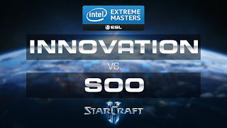 StarCraft 2 - soO vs Innovation (ZvT) - IEM 2015 Gamescom - Grand Final