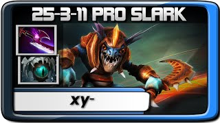 Dota 2 | xy- Slark 25-3-11 Pro Ranked Gameplay