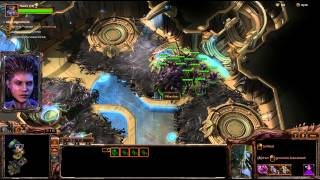 Infest The Protoss! - Brutal Heart of the Swarm Campaign Mission 12