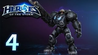 Heroes of the Storm: Jim Raynor - Gameplay #4 (w/ 4 man team)