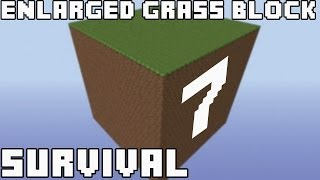 Выжить любой ценой - Часть 7 - Minecraft Enlarged Grass Block Survival