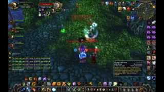 World of Warcraft lvl 80 elemental shaman pvp 3.3.5 Raptors