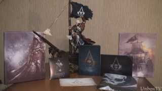 Распаковка Assassin's Creed IV Black Chest Edition Unboxing!