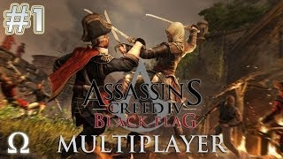 Assassin's Creed 4 Multiplayer #1 - PEWDSIE'S FIRST TIME - Ft. Pewdiepie, Minx, Markiplier, Cry - PC