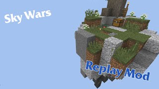Minecraft | Hypixel Sky Wars | Replay mod