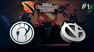 VG vs Invictus Gaming #1 | D2CL S5 (31.03.2015) Dota 2