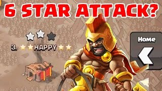 Clash of Clans | 6 STAR ATTACK?! WTF | Best Attacker Ever lol jk