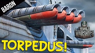 World of Warships - Torpedus Rampage!  So Many Kills :3