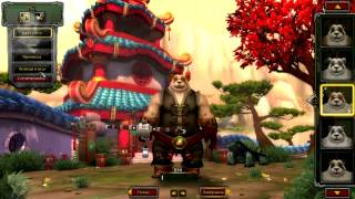 World of Warcraft Mists of Pandaria Пандарен - Хант #1