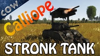 War Thunder - CALLIOPE MISSILE TANK! | War Thunder Gameplay w/ Commentary