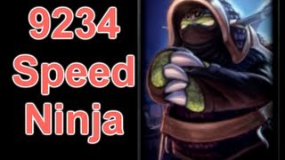 League of Legends - 9234 Movement Speed Ninja Rammus