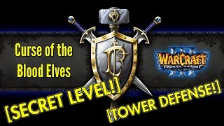Warcraft III The Frozen Throne: Human Campaign Secret Level - The Crossing [Tower Defense!]