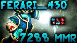 Ferrari_430 7288 MMR Plays Storm Spirit Dota 2