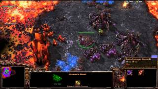SC1 Campaign in SC2 - Zerg Mission 4 - StarCraft 2