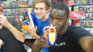 GTA 5 MIDNIGHT NERF BATTLE!