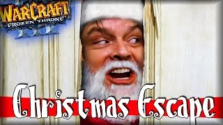 Warcraft 3 Frozen Throne - Карта Christmas Escape Beta [БЕГИ САНТА, БЕГИ!]