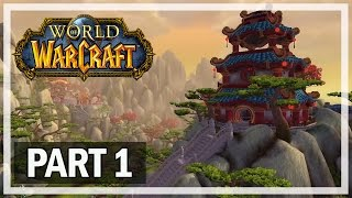 World of Warcraft Walkthrough Part 1 Panda - Let's Play Gameplay