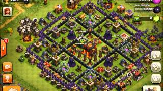 Clash of Clans - Level 6 Balloons + Level 5 Minions! (100% Master's League Raid!)