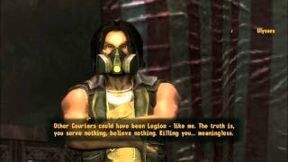 Fallout New Vegas: Lonesome Road Ending (Speech Check - Good Ending) Part 1