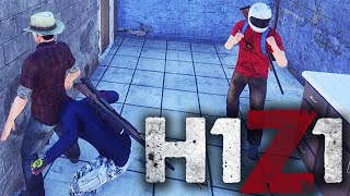 H1Z1 With Friends - Funny Moments, Police Car, Zombies, Guns, & MORE