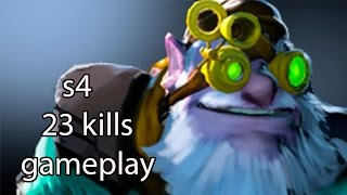 s4 Sniper 23 kills | Dota 2 Gameplay