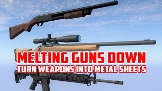 H1Z1 - Melting Guns Down - Turn Your Weapons Into Metal Sheets