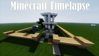 Minecraft Timelapse - Modern House 6x6 - Replay Mod [HD]
