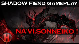 Na'Vi.SoNNeikO ! 6892 MMR Shadow Fiend Gameplay Dota 2