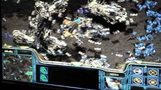 starcraft brood war madnesss!!!!!!!! : Carrier attacks