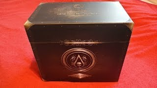 Assassin's Creed 4 Black Flag Black Chest Edition Unboxing