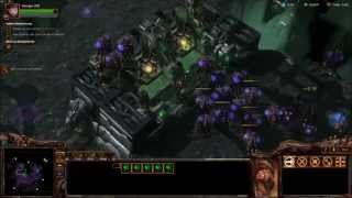 "NARUD - Starcraft 2 Heart of the Swarm Brutal Playthrough Mission ""Hand of Darkness"""