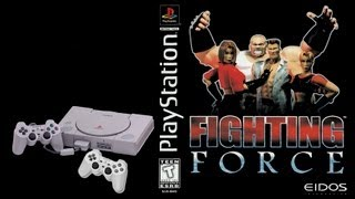 Стрим Fighting Force (PS1) Прохождение