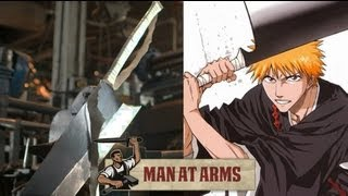 Ichigo's Zangetsu Sword (Bleach) - MAN AT ARMS