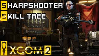 XCOM 2 - Sharpshooter Class - Skill Tree Breakdown - Preview Gameplay