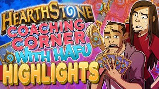 Hearthstone - Arena Coaching With Hafu (Highlights)