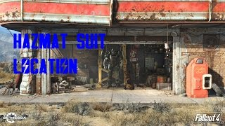 Hazmat Suit Location - Fallout 4 Gameplay