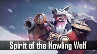 Dota 2: Store - Sniper - Spirit of the Howling Wolf Set