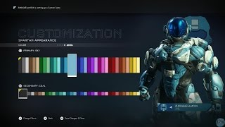 Halo 5 Guardians Multiplayer Customization and Spartan Rank Packs opening!