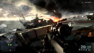 "Battlefield 4 Xbox One ""Angry Sea"" Single Player Gameplay"