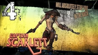 Captain Scarlett's Pirate Booty DLC - Part 4 - Borderlands 2 Mechromancer TVHM