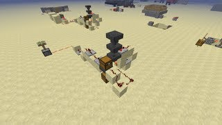 Minecraft Redstone Tutorial: How to make a Lock and Key System w/ Hoppers!